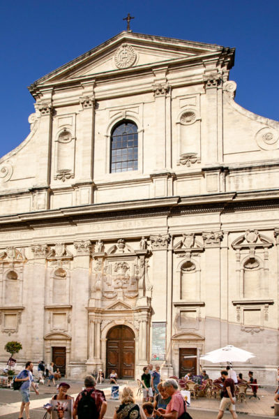 Musée Lapidaire dentro a una chiesa sconsacrata
