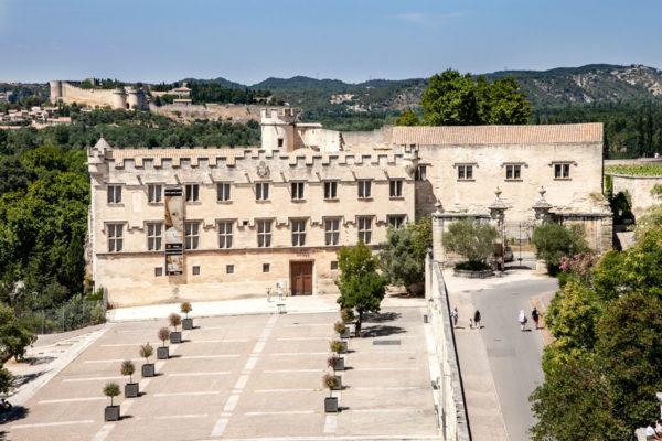 Musee du Petit Palais in Place du Palais des Papes - Avignone