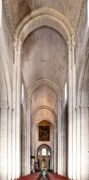 Navata centrale Cattedrale Saint-Trophime di Arles