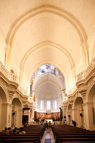 Navata interna del duomo di Notre Dame - Avignone