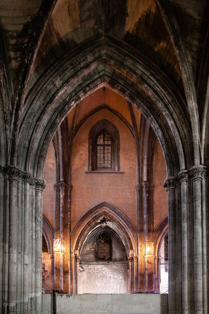 Navate interne chiesa dei Celestini di Avignone