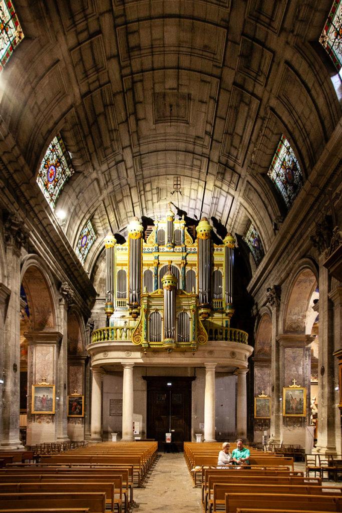Organo su ingresso del duomo di Saint Remy de Provence