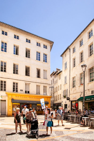 Palazzi del centro storico di Avignone