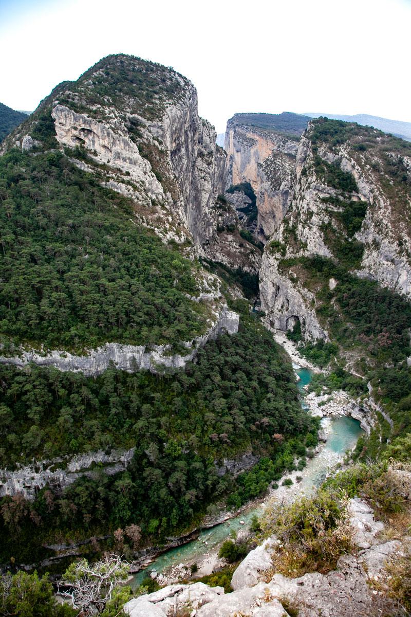 Panorama sul Canyon delle Gole del Verdon - Francia