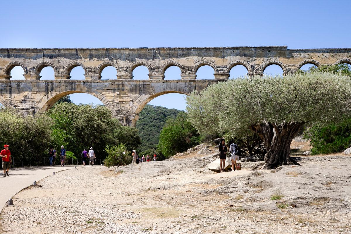 Parco del ponte acquedotto più lungo di Francia