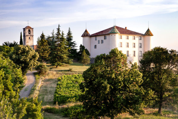 Parco e castello privato di Aiguines