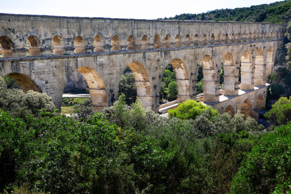 Passeggiata fino al Pont du Gard - Acquedotto romano patrimonio UNESCO