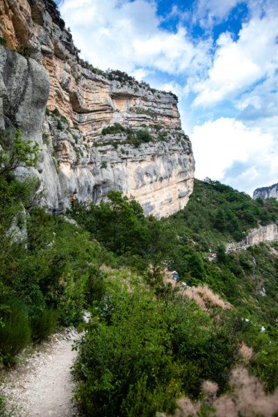 Passeggiata verso Point Sublime - Punto panoramica sulle Gole del Verdon - Canyon Francese