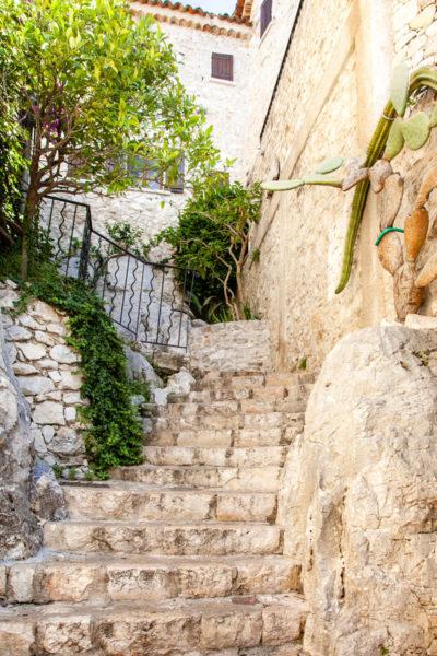 Piante Grasse e Scalinate Assolate - Cosa vedere in Costa Azzurra