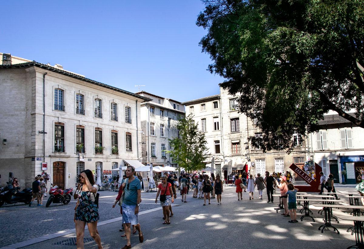 Piazza Saint Didier - Avignone