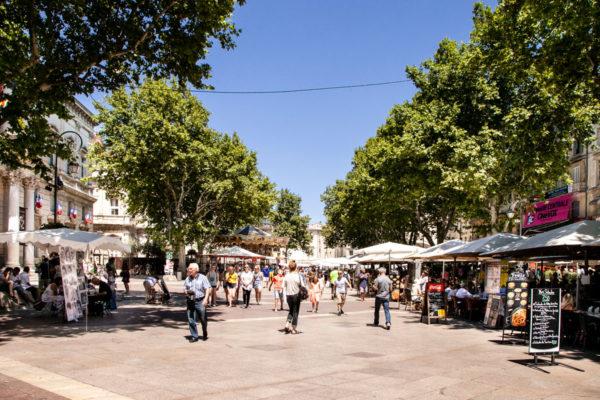 Place de l'Horloge - Avignone