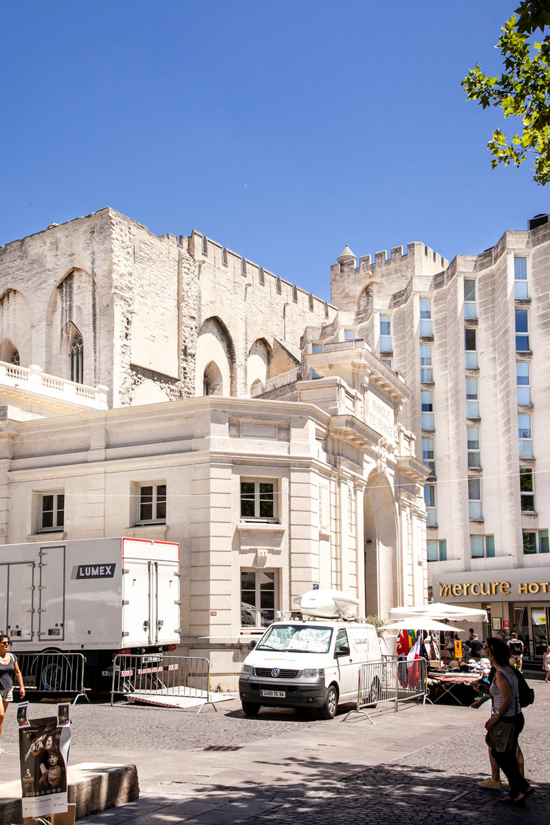 Place de l Horloge di Avignone