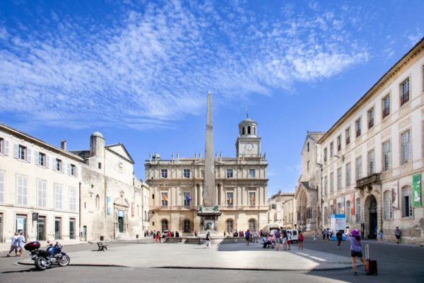 Place de la République di Arles
