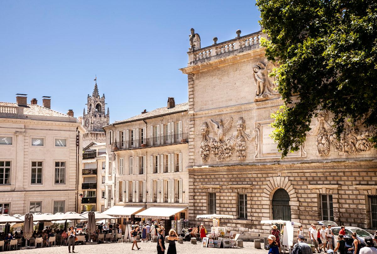Place du Palais - Avignone Provenza