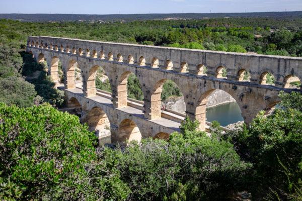 Pont du Gard - Acquedotto in Linguadoca-Rossiglione