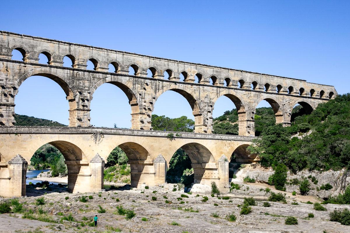 Pont du Gard - Patrimonio UNESCO dal 1985