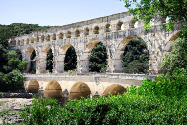 Pont du Gard - il Ponte Acquedotto più alto del mondo romano