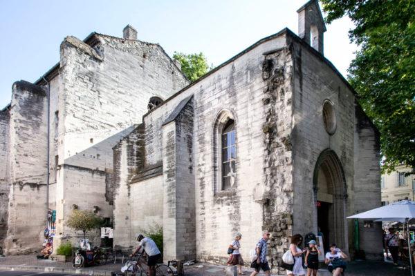 Portale del chiostro della chiesa dei Celestini di Avignone