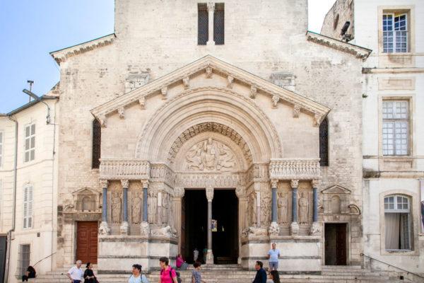 Portale della Cattedrale Saint-Trophime di Arles