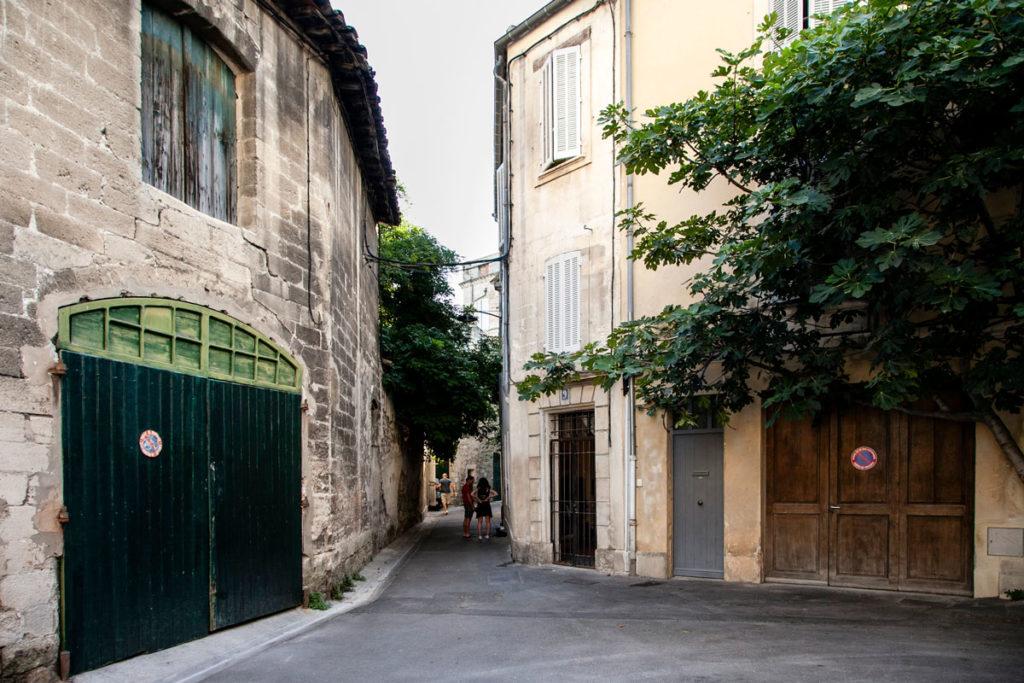 Portoni e vicoli del centro storico