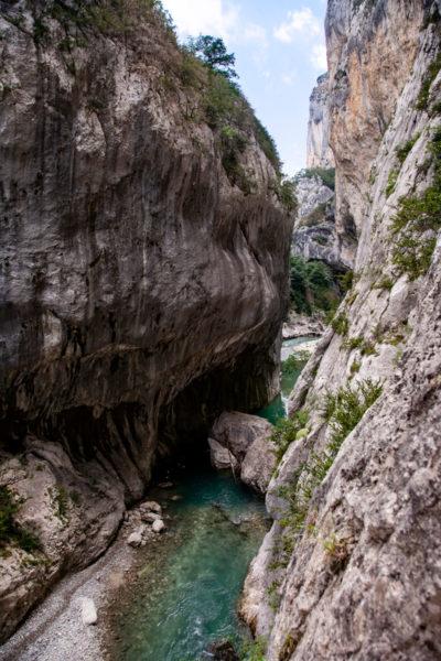 Roccia Scavata nei secoli dal fiume Verdon