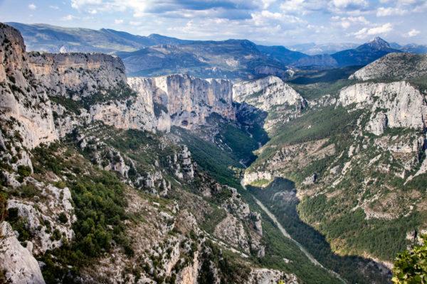 Route de Cretes - Punto Panoramico di Osservazione sulla Gola del Verdon