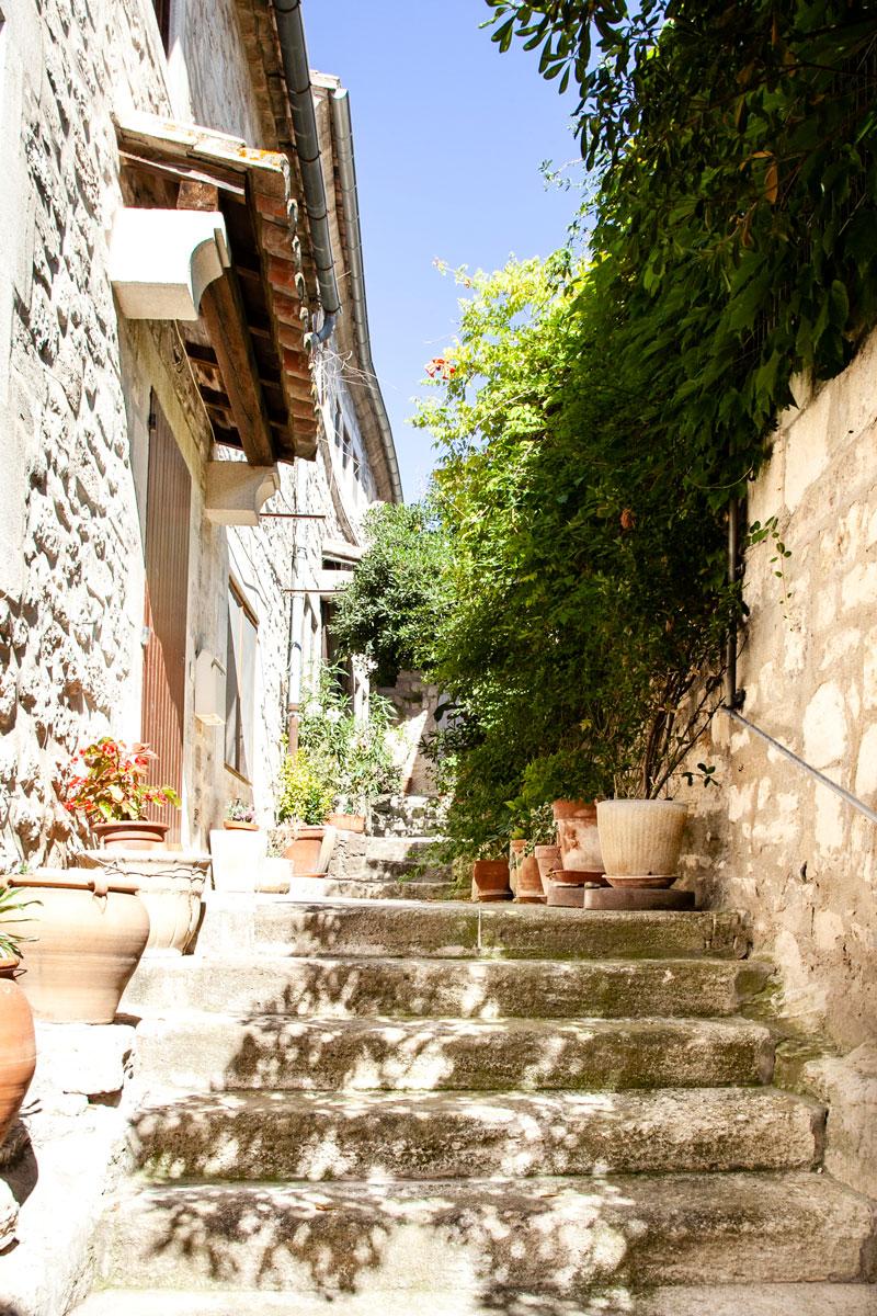 Scalinate e vicoli di Les Baux de Provence
