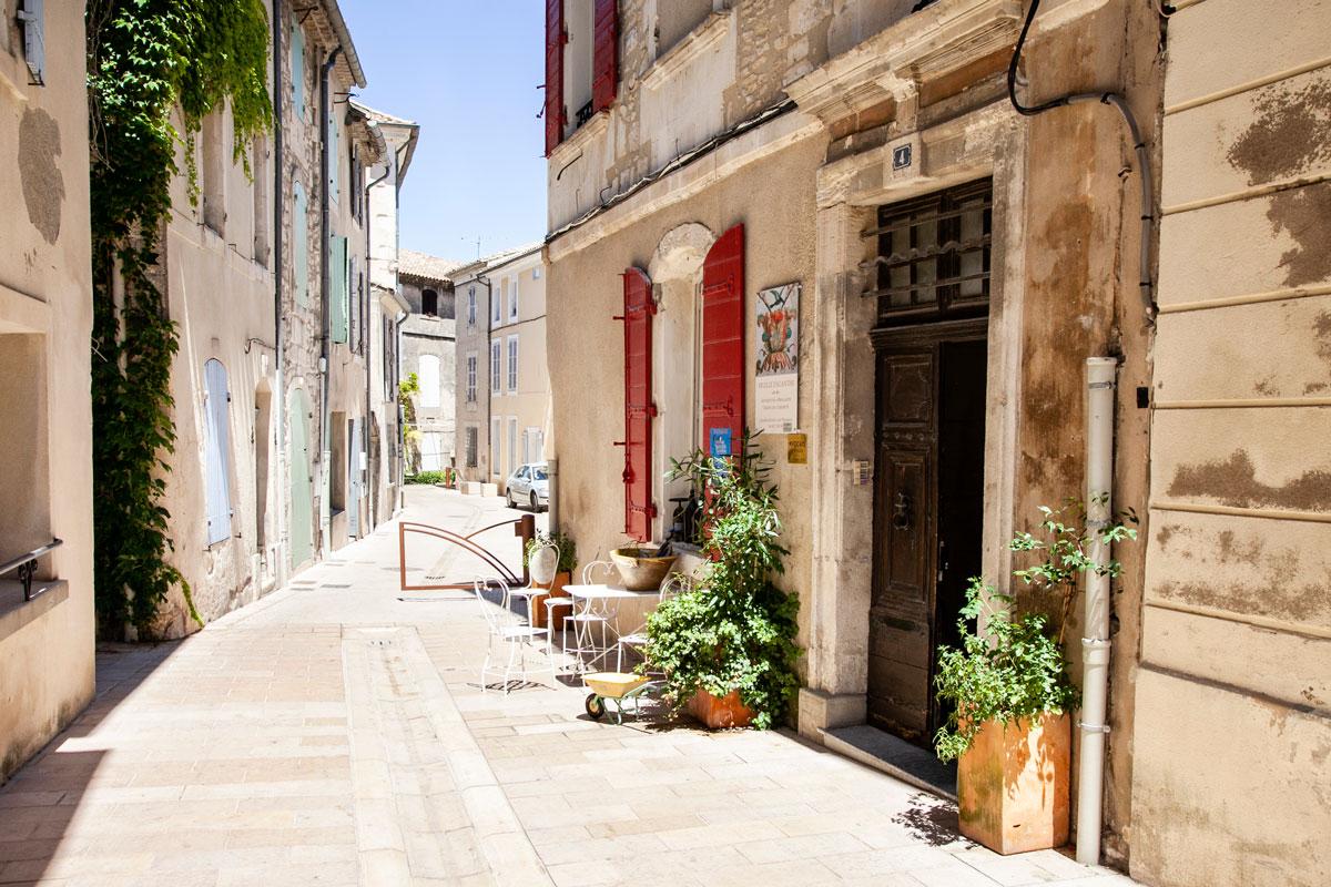 Strada secondaria di Rue Carnot