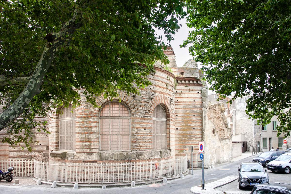 Terme di Costantino - Ex palazzo dell imperatore