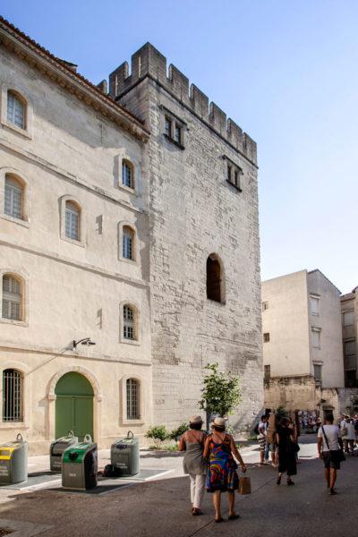 Torre merlata in Piazza Saint Didier