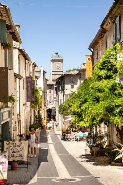 Verso Rue Carnot - Strada Principale di Saint Remy de Provence