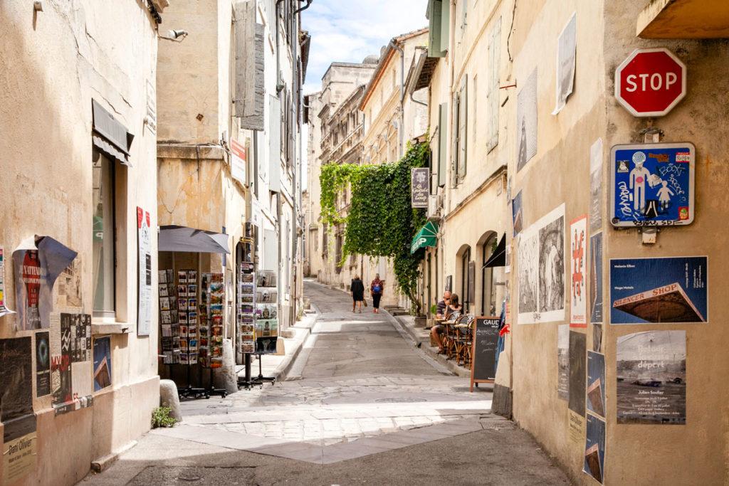 Vicoli del centro storico di Arles