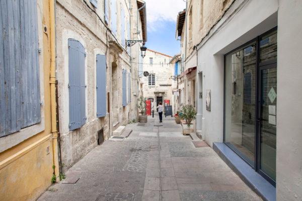 Vicoli del centro storico di Arles - Provenza - Sud della Francia