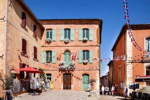 Vicoli del centro storico di Roussillon - Les Plus Beaux Villages de France