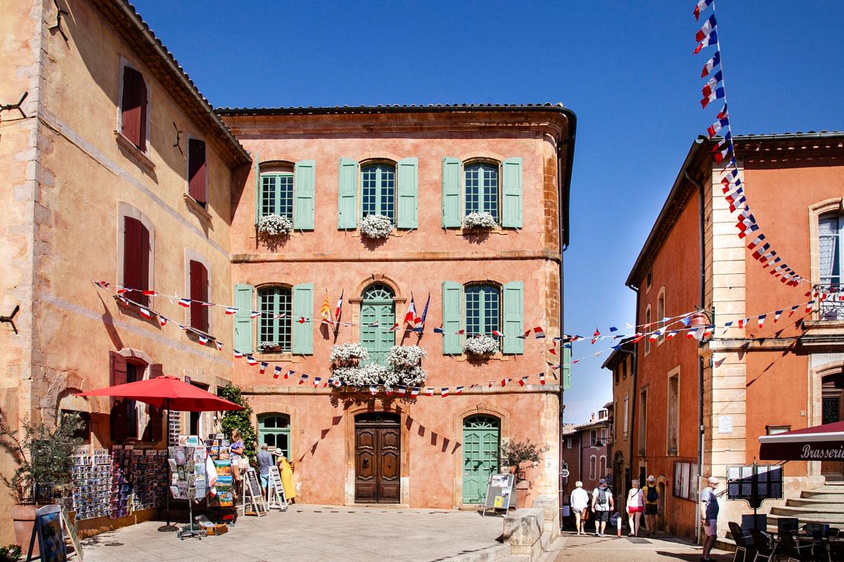 Vicoli del centro storico di Roussillon - Les Plus Beaux Villages de France