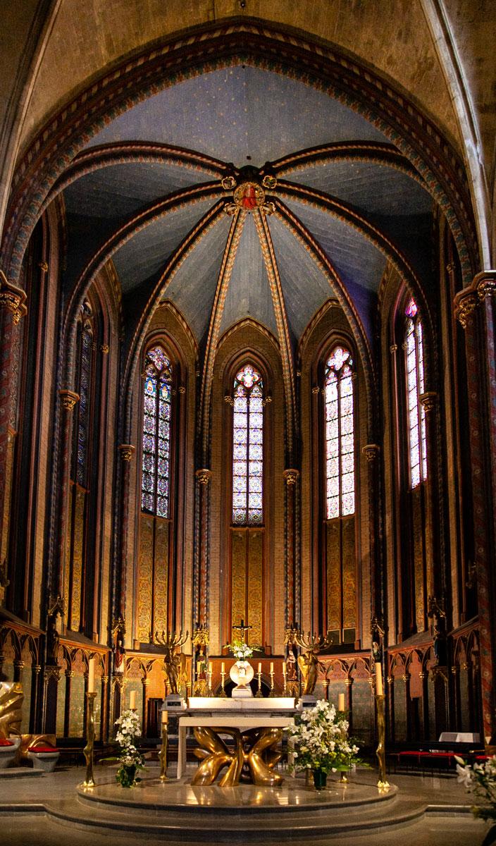 Altare della cattedrale di Saint Sauveur - Aix en Provence