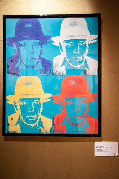Andy Warhol - Joseph Beuys State III - Serigrafia su carta