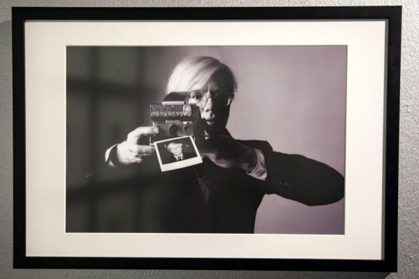 Andy Warhol by Oliviero Toscani - Palazzo Albergati Bologna