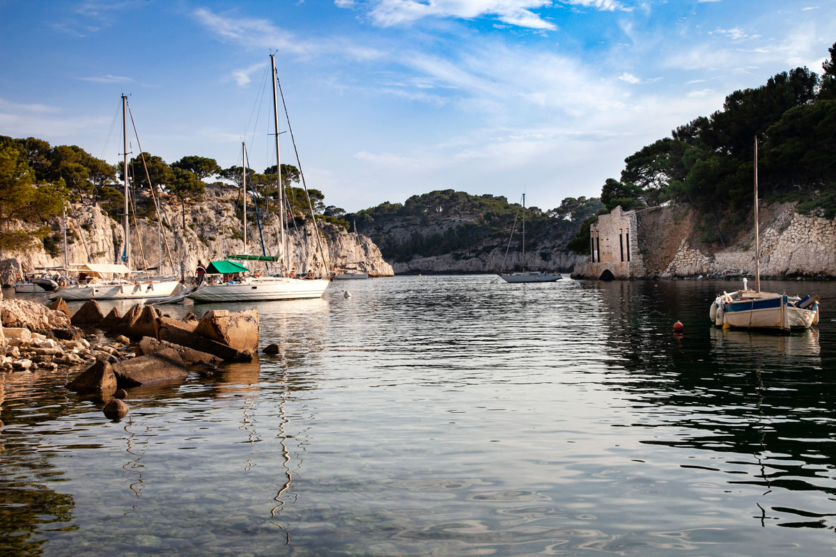 Barche a Porto Pin - Calanchi di Marsiglia