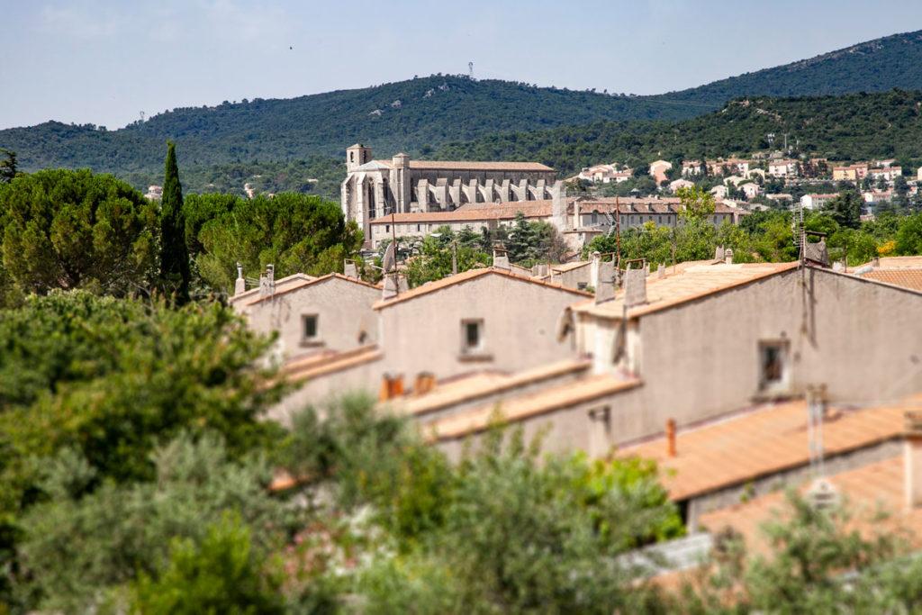 Basilica di Saint Maximin La Sainte Baume vista panoramica