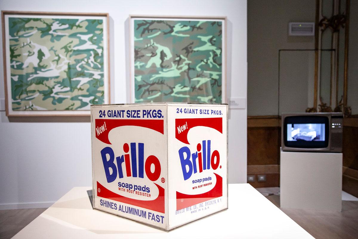 Brillo - Popart di Andy Warhol