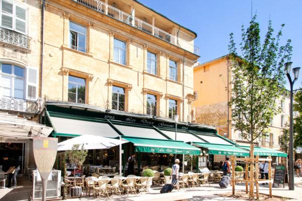 Cafe les deux garcons - Aix en Provence in Cours Mirabeau