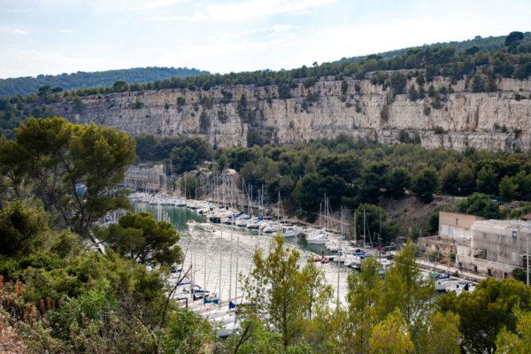Cap Cable nei Calanchi di Marsiglia