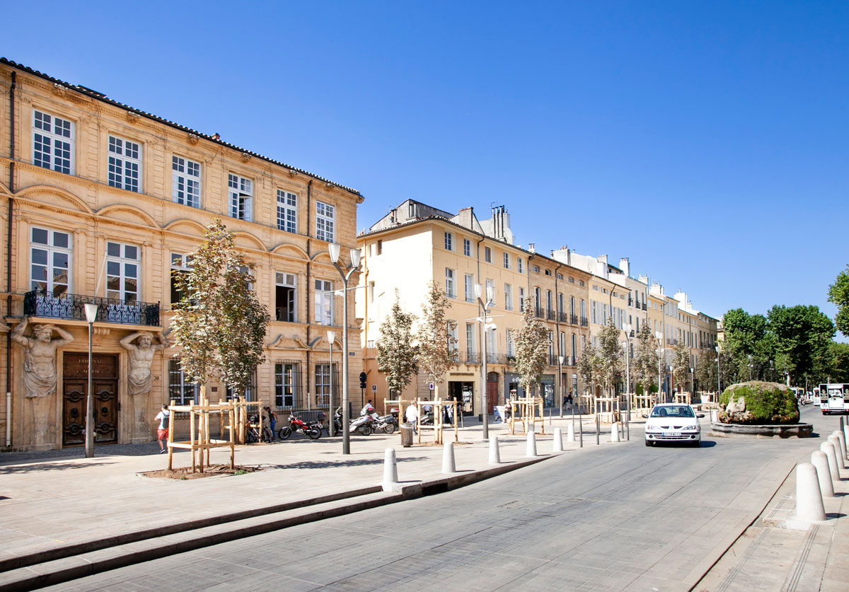 Cariatidi dell'Hotel d Espargnet - Aix en Provence