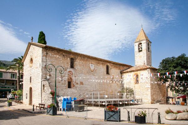 Chiesa di San Gregorio del XII Secolo - Tourrettes sur Loup