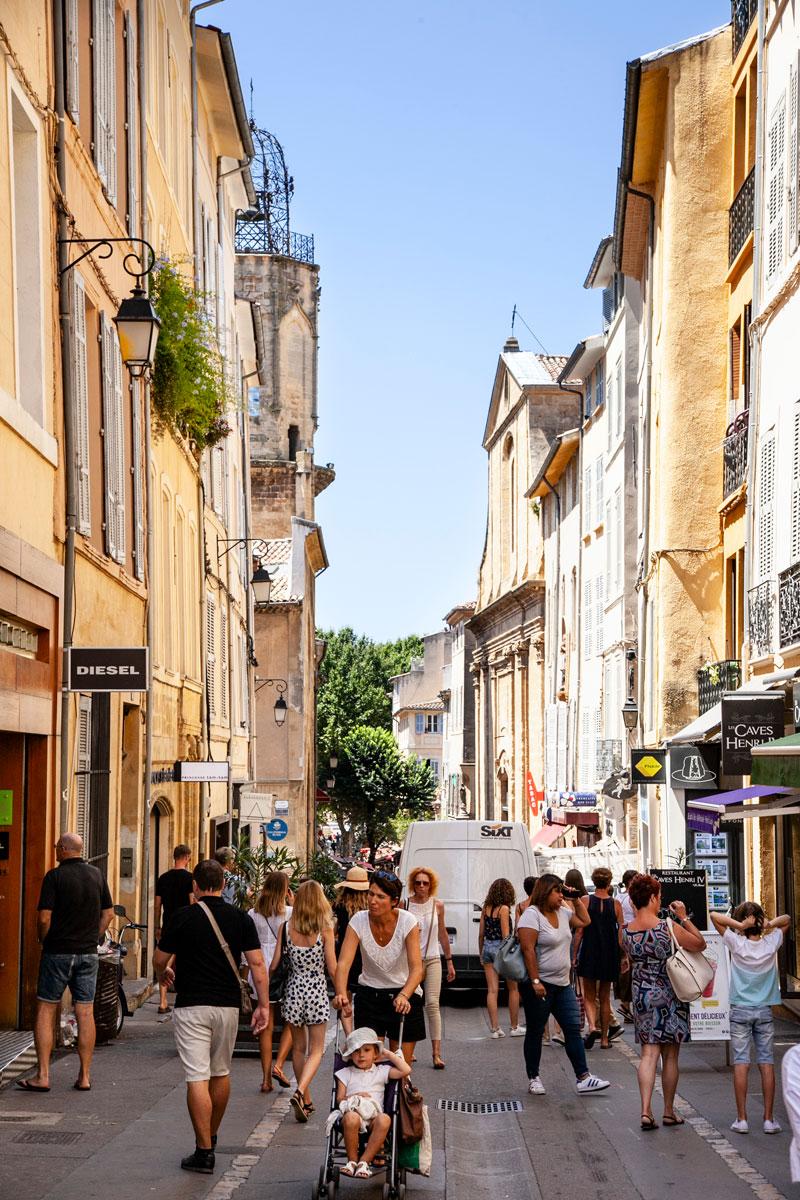 Città provenzali - Aix en Provence