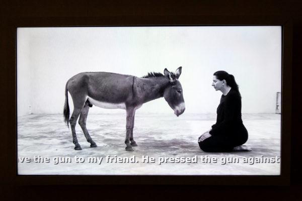 Confession - Video in cui Marina Abramović ricorda la sua infanzia davanti a un asino - The Cleaner a Firenze