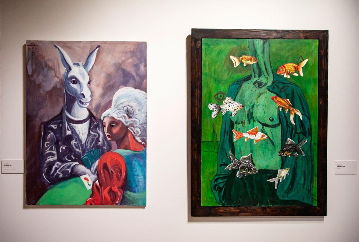 Dipinti di David Bowes e Ray Smith