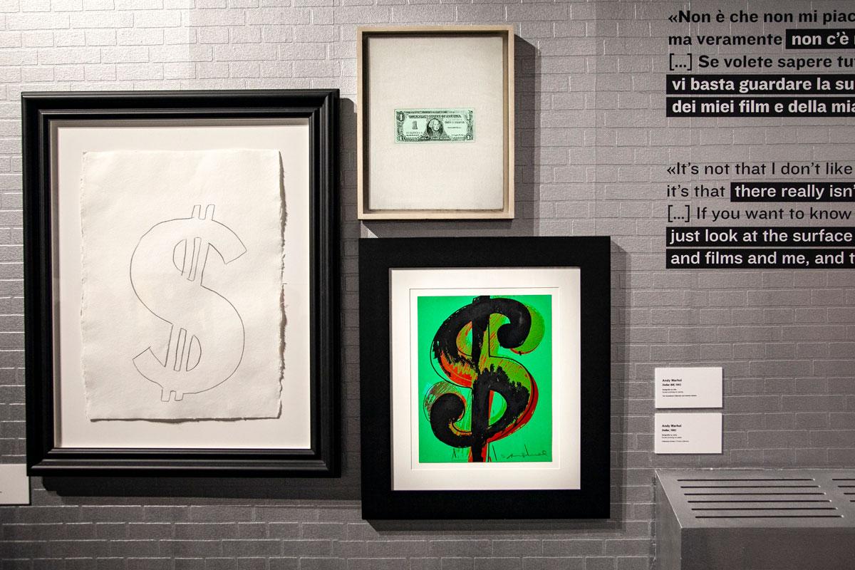 Dollar di Andy Warhol