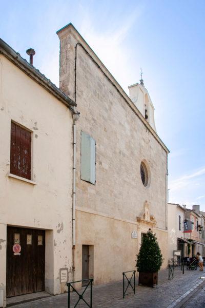 Facciata della cappella dei penitents blancs - Aigues Mortes